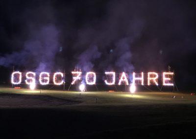 Jubiläumsfeier im OSGC mit Rekordbeteiligung
