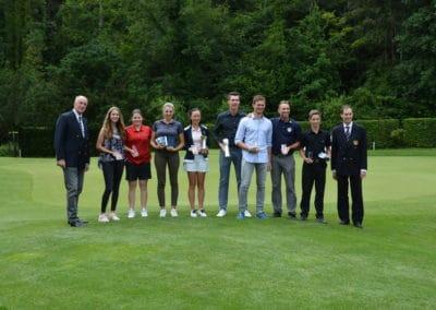 Die besten Schweizer Golfer an der Championnat de Suisse Orientale in Niederbüren