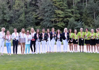 Championnat Suisse Interclubs, Dames B1 2019