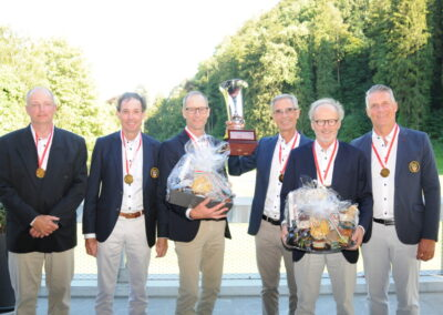 Schweizermeister und Silbermedaille
