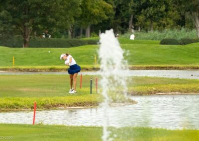 6. Platz von Chiara Tamburlini an den English Women's Open Amateur Stroke Play Championship