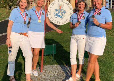 3. Rang für die OSGC Damen an den Ch. Interclubs Dames Seniors 1